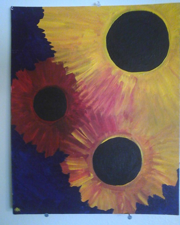 Triple Eclipse (painted 2003)