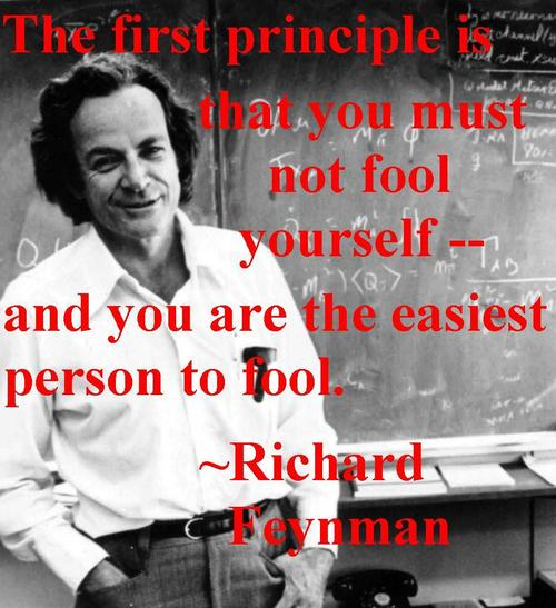 Feynman's First Principle