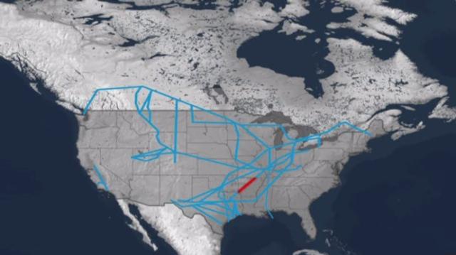 The Pegasus Crude Oil Pipeline