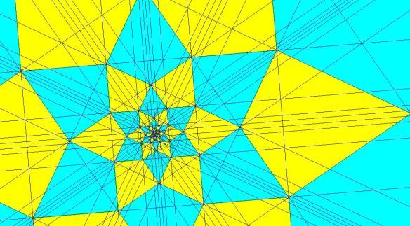 Radial Tessellation of the Plane Using Kites