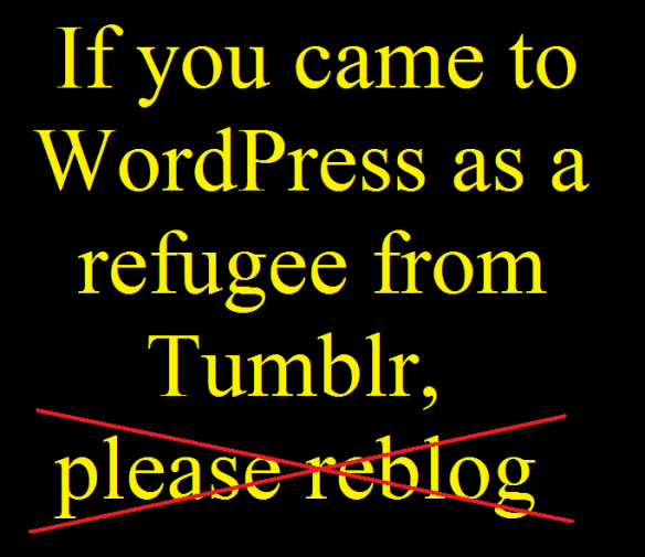For Tumblr-Refugees