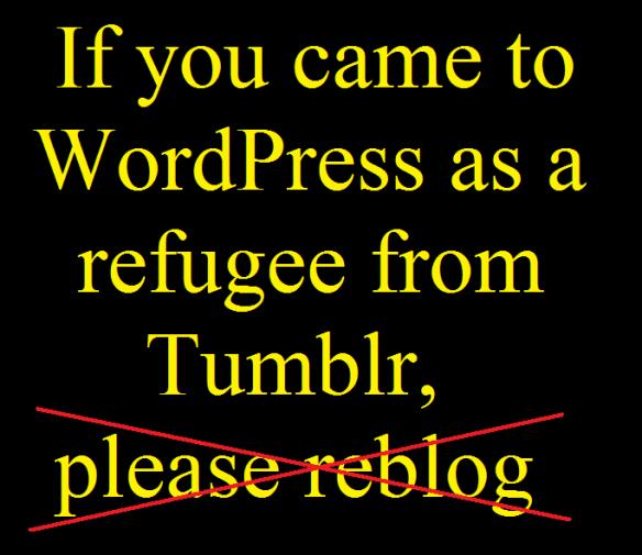 For Tumblr-Refugees