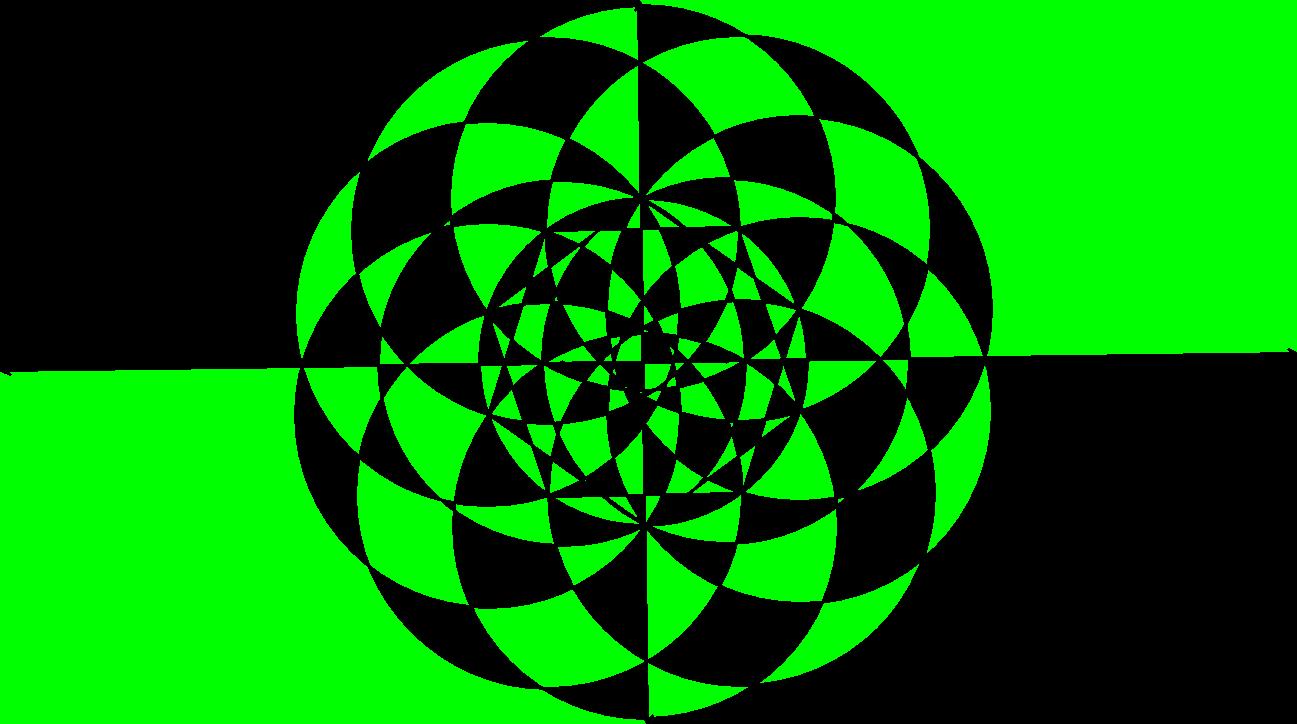 A Green Snowflake