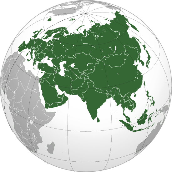 On the Geography of Eurasia, and Its Major Divisions