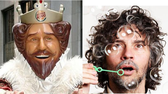 Is Wayne Coyne the Burger King King?