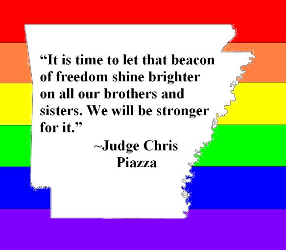 Judge Strikes Down Same-Sex Marriage Ban in Arkansas
