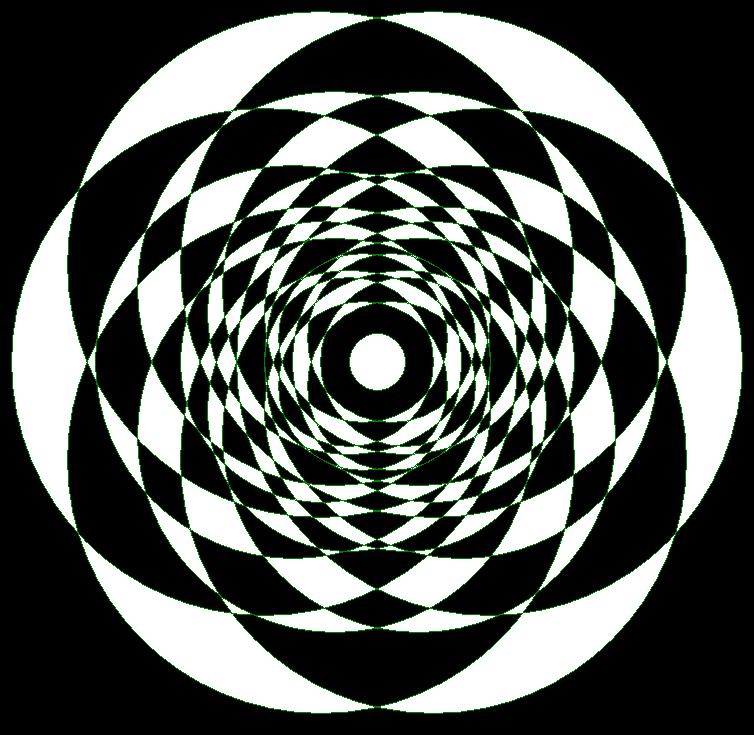 A Snowflake Made of Circles