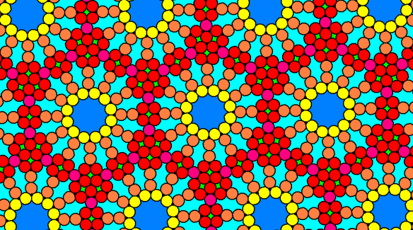 Tessellation Featuring Regular Dodecagons and Triangles, As Well As Several Types of Non-Convex, Equilateral Polygons