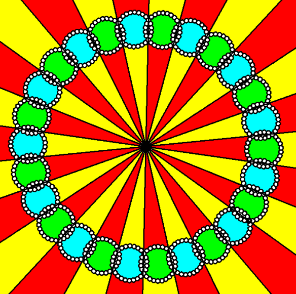 A Ring of 26 Rings of 26 Triskaidecagons