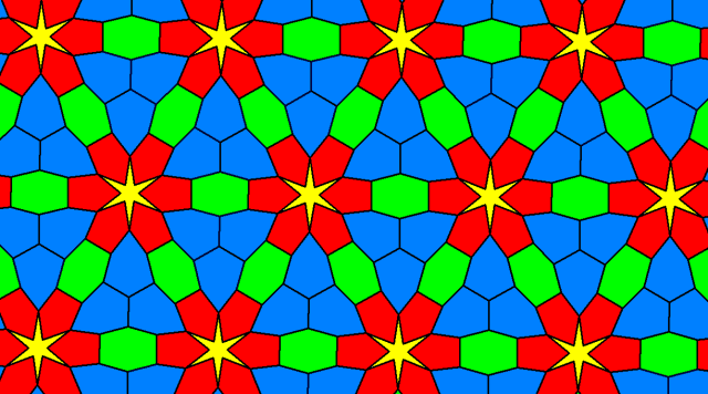 Tessellation in Four Colors