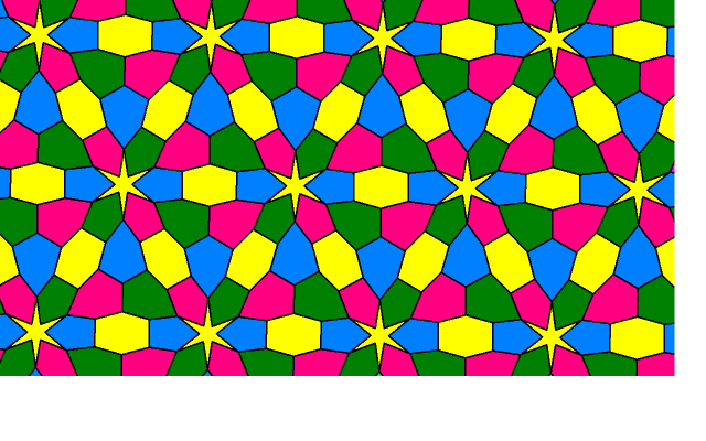 Tessellation in Four Colors #2