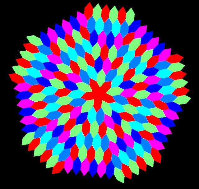 Hex radial tessellation 2