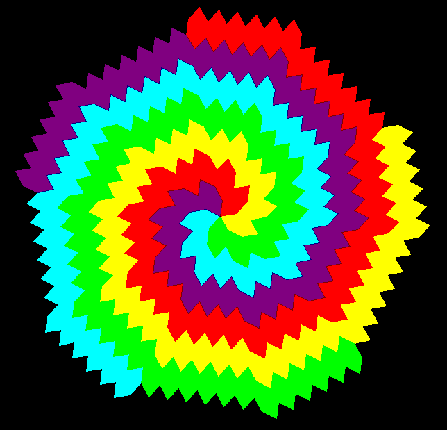 Hex radial tessellation 3