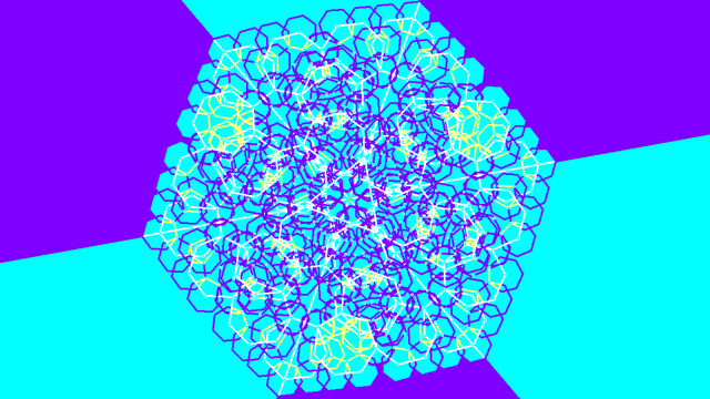 hexagonal mandala 2