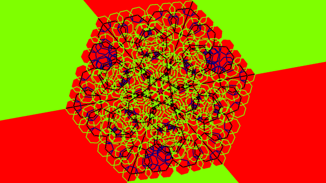 hexagonal mandala 3