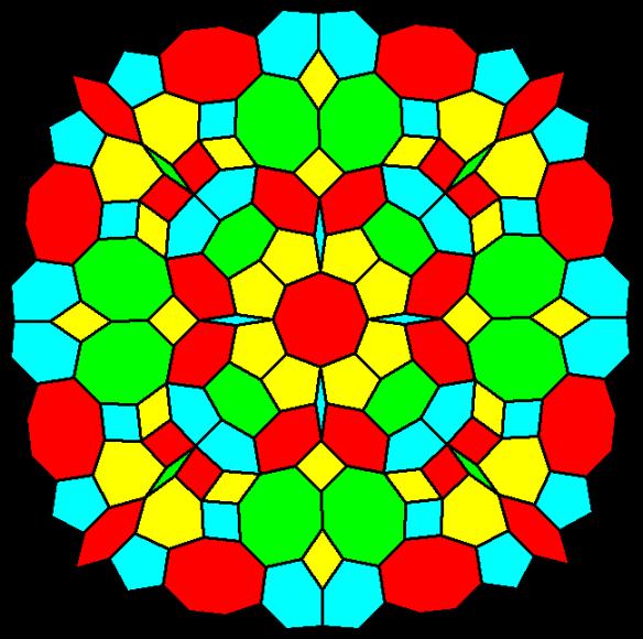 Mandala in Four Colors