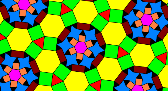 Camping In Hexagonal Tents On a Tessellated Plane