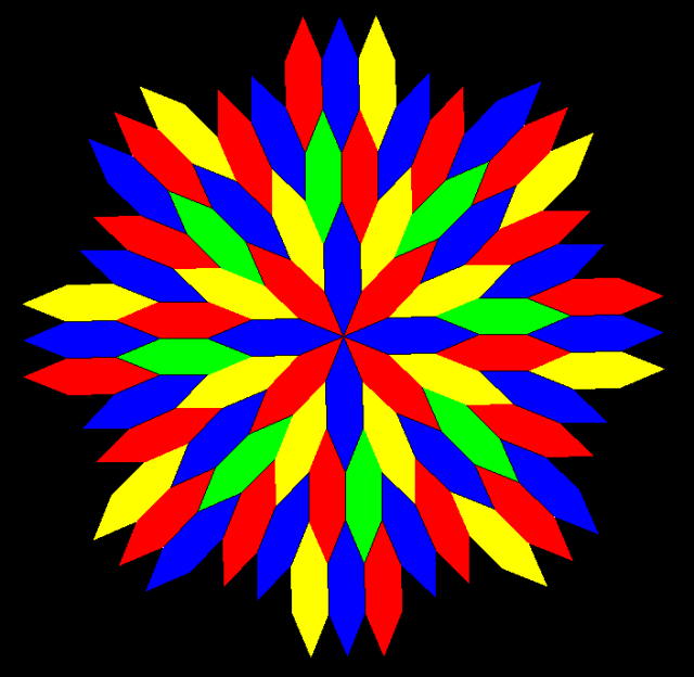 radial octagonal mandala 2