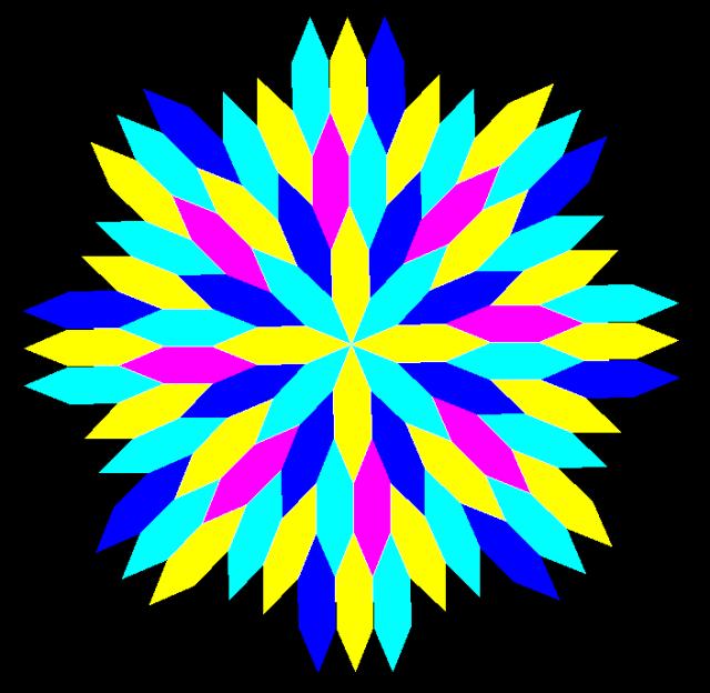 radial octagonal mandala 2B