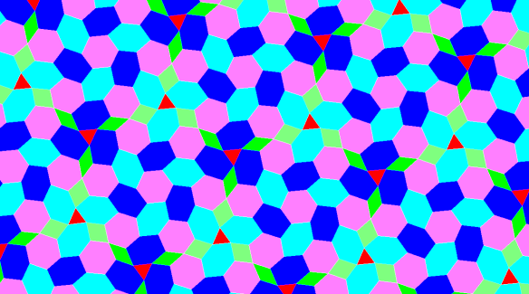 weird tessellation