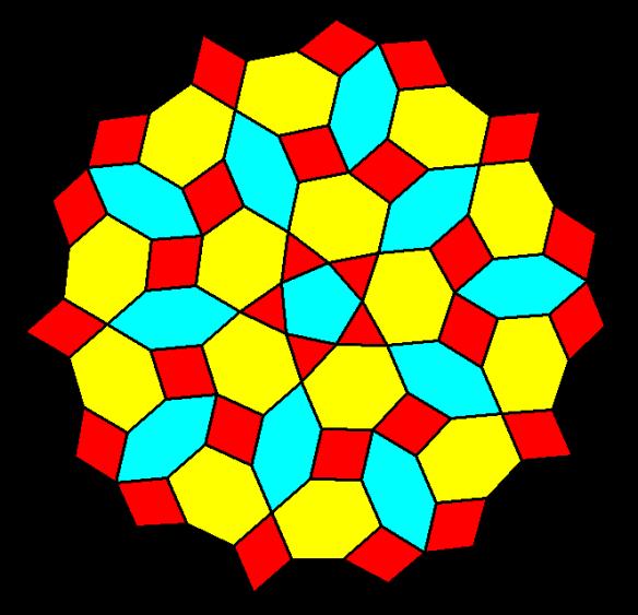 Euclidean Mandala without construction lines