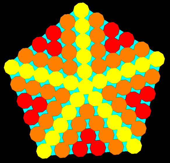 decagon and bowtie hexagons