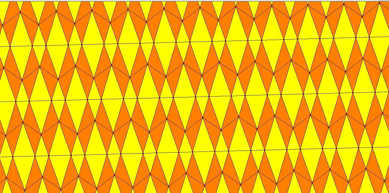 golden tiling
