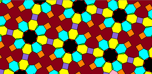 octagons hexagons squares
