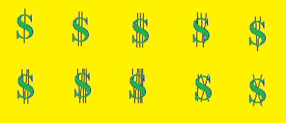 roman numeral dollar signs