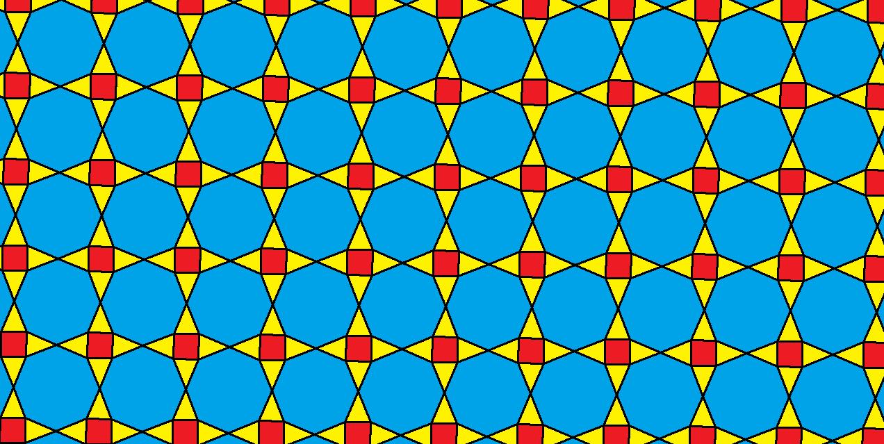 Tessellation Using Regular Octagons, Squares, and Isosceles ...