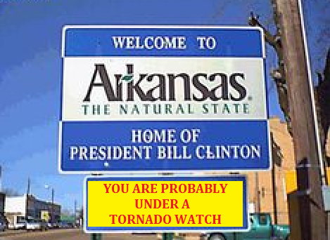 arkansas the tornado state