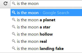 is the moon