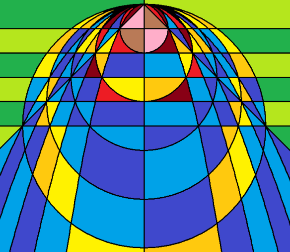 our red-haired lady of parabolas, circles, and probabilities