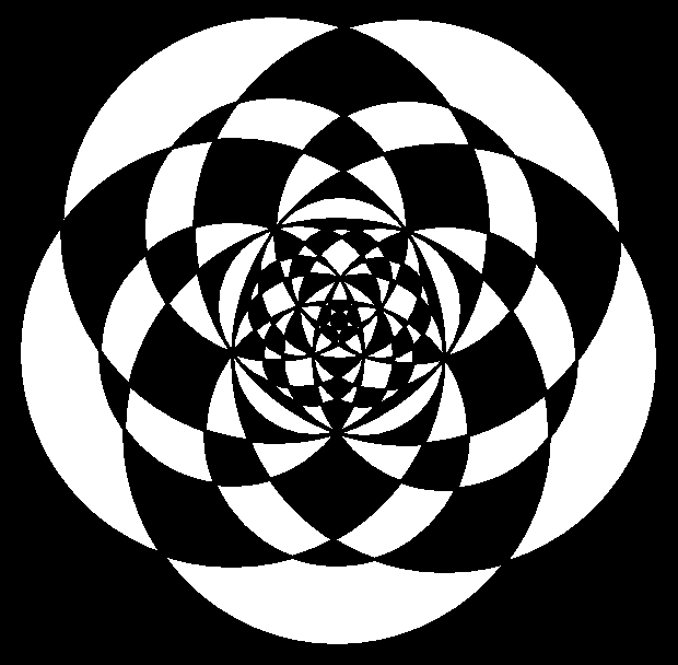 sets of five circles