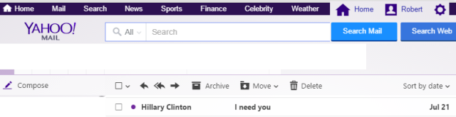 Hillary Needs Me