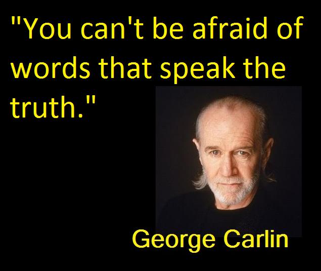 Carlin on Words