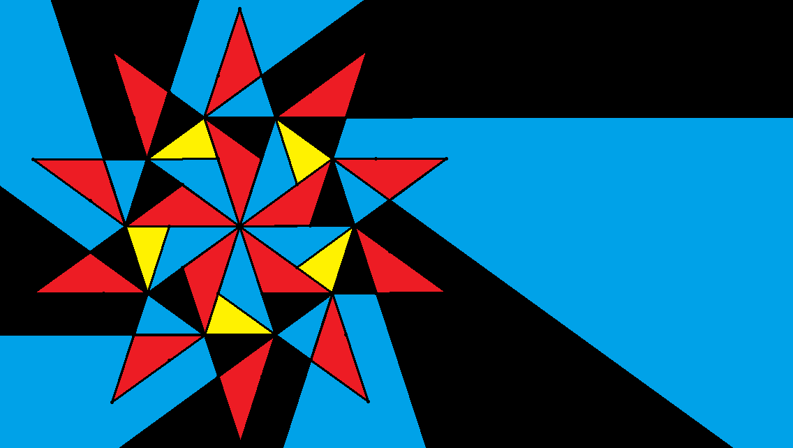 a four-color flag