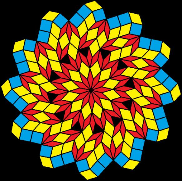 pinwheel of rhombi