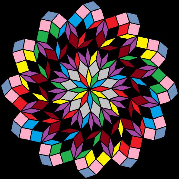 rhombic pinwheel