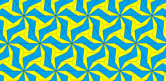 triangles and pentagons