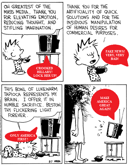 calvin and trump