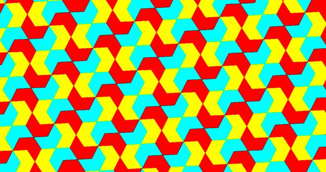 concave hexagon tessellation