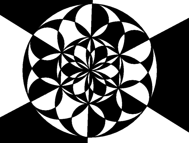 Polycircle Op Art