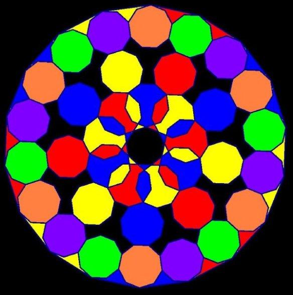 enneagonal mandala