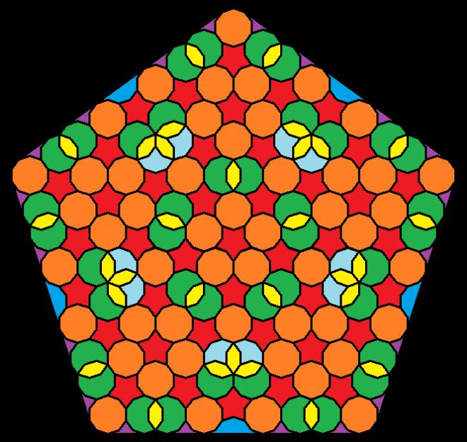 pentagonal mandala iv