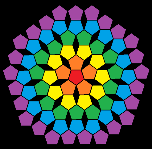 pentagonal mandala v