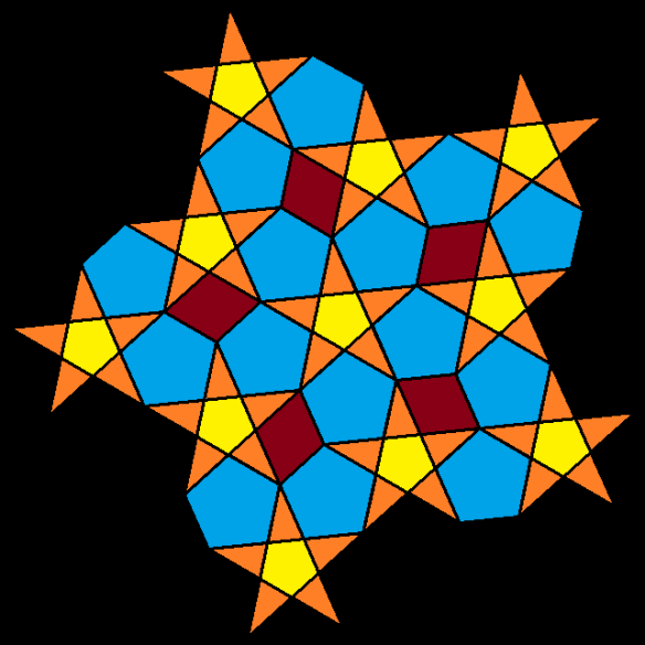 stars pentagons and rhombi