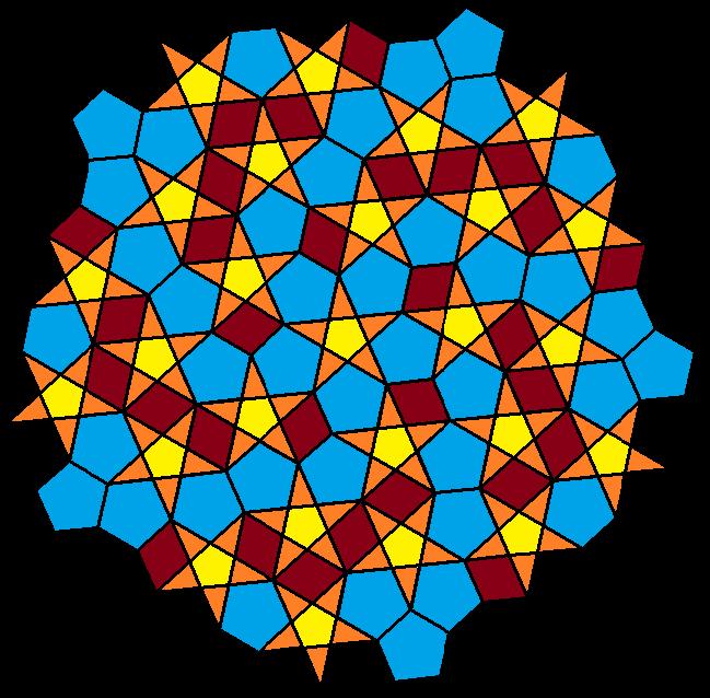 stars pentagons and rhombi