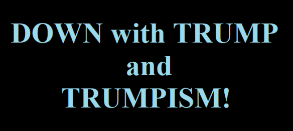 down with trump