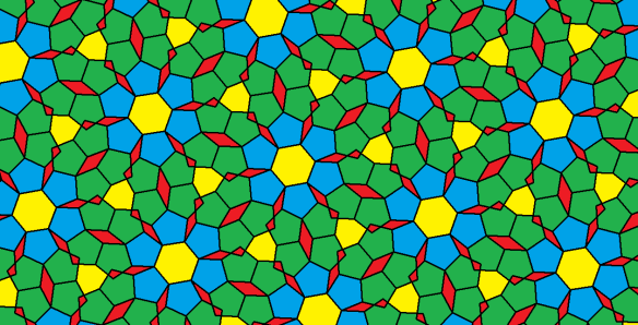 pentagons and hexagons